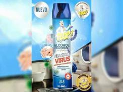 Dr. Plop Alcohol con glicerina en aerosol (440ml)